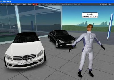 Second Life – Presentata la nuova Mercedes Classe C