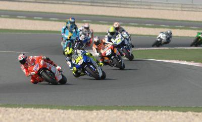Sfida: Yamaha M1 – Ducati Desmosedici GP7