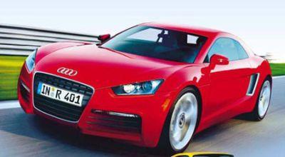 Audi R4, una sportiva small