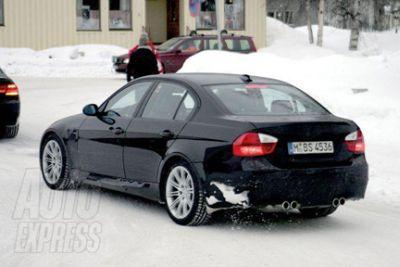 Prossimamente la BMW M3 berlina quattro porte
