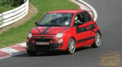 La nuova FIAT 500 (Abarth) al Nurburgring