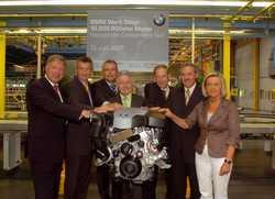 BMW festeggia il 10milionesimo motore