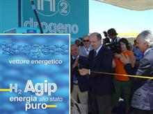 Ecostaziome Agip per auto a idrogeno
