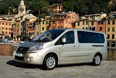 "Fiat Scudo nominato ""International Van of the Year 2008"""