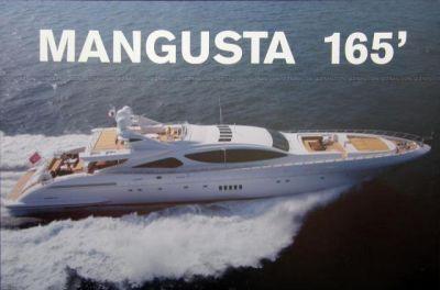 47° Salone Nautico Internazionale di Genova – OVERMARINE – Mangusta 165 Open