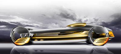 Los Angeles Design Challenge – Mercedes-Benz SilverFlow può assumere diverse forme