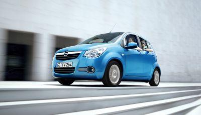 Con 120 g/km di CO2 la nuova mini-monovolume Opel si colloca ai vertici mondiali
