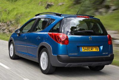 Nuova Peugeot 207 SW Outdoor