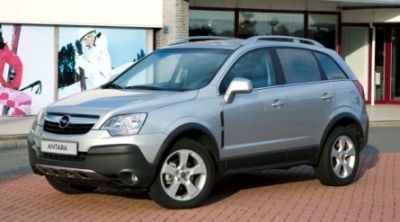 European Road Transport Show 2007 – Opel Antara Van