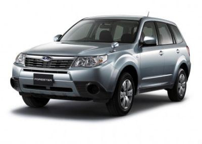 In anteprima le immagini della Subaru Forester 2008