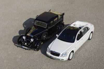 Salone dell'Auto di Detroit 2008: Maybach presenta la vettura più esclusiva e lussuosa al mondo