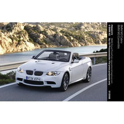 Terza variante di carrozzeria della nuova BMW M3