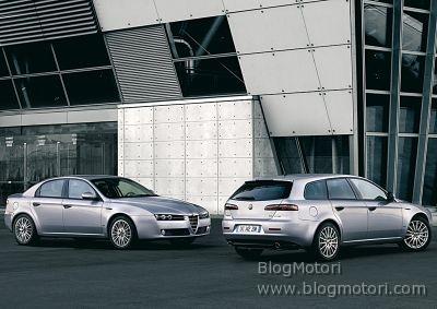 Alfa Romeo 159 berlina e Sportwagon MY2008 al Salone Internazionale di Ginevra