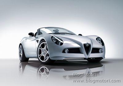 Alfa 8C Spider al Salone Internazionale di Ginevra