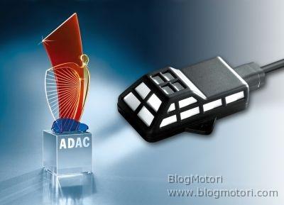 """L'ADAC ha assegnato a Bosch il premio Angelo Giallo 2008, nella categoria """"Innovazione"""" per la progettazione e lo sviluppo del sensore CCS Climate Control Sensor"""