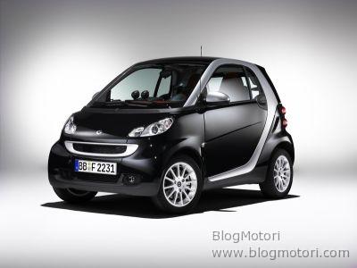 smart fortwo è la vettura più conveniente in Germania
