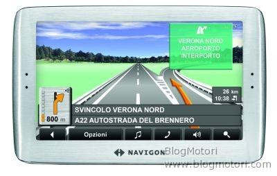 Cebit 2008: NAVIGON 811, navigazione a tre dimensioni