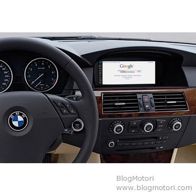 BMW al CeBit 2008: debutto mondiale per l'utilizzo di internet in auto senza limiti