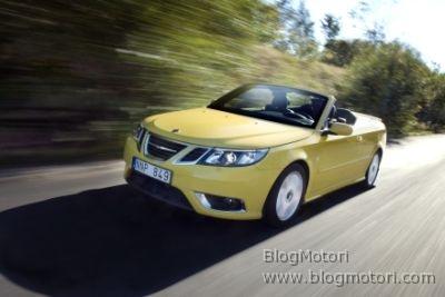 Nuova Saab 9-3 Cabriolet, disponibile anche con motori flex-fuel