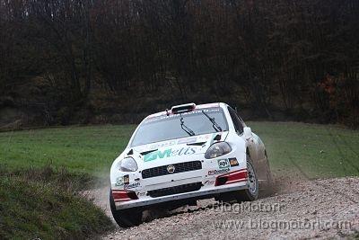 Due Grande Punto Abarth S2000 al Rally San Marino con Travaglia e Navarra
