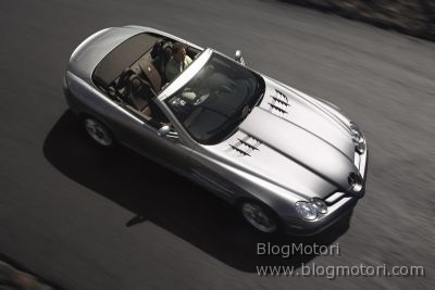 Il migliore roadster europeo ? Mercedes-Benz SLR McLaren