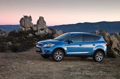 Ginevra 2008 –  Ford presenta il crossover Kuga