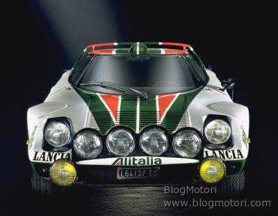 Lancia Stratos HF Alitalia al 23esimo Sanremo Rally Storico, dal 3 al 6 aprile