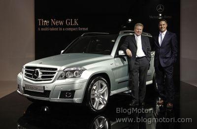 Mercedes-Benz Classe GLK: nuovo motore diesel 4 cilindri e motorizzazioni V6 di comprovata affidabilità