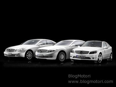 Tre Mercedes-Benz da sogno: Sportcoupè CLC, Classe CLS New Generation e CL 4MATIC