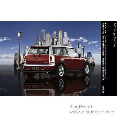 MINI Cooper Clubman al Salone Auto China di Pechino 2008