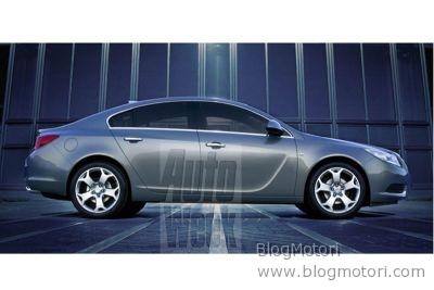 Nuova Opel Insignia, ecco le prime informazioni