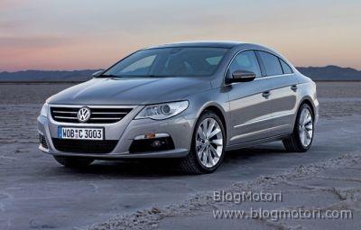 Nuova Volkswagen Passat CC, tecnologicamente all'avanguardia