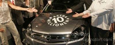Astra Anniversary, per celebrare dieci milioni di auto uscite dagli stabilimenti dal 1991