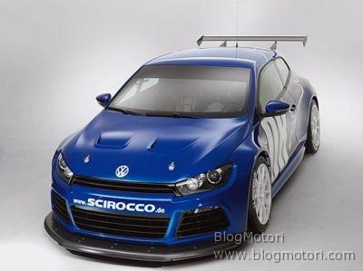 Volkswagen Scirocco GT24 alla 24 Ore del Nurburgring