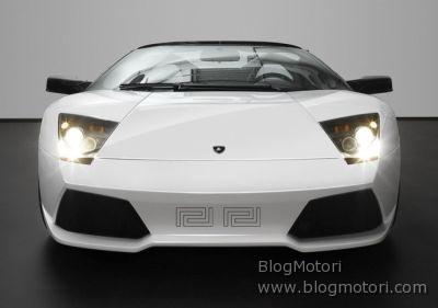 Maison Versace e Lamborghini insieme per la Murciélago LP640 Roadster