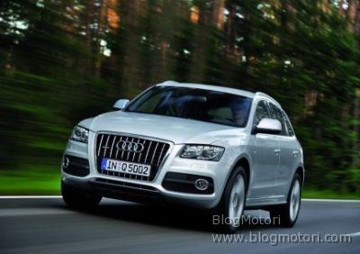 Diffusi i prezzi dell'Audi Q5 sul mercato tedesco