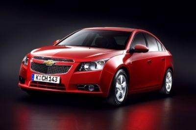 La nuova berlina Chevrolet Cruze arriverà sul mercato europeo a Marzo 2009