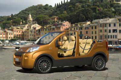 "Fiat Professional presenta l'originale show van ""Portofino"""