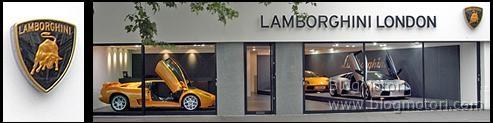 Sceicco manda Lamborghini dal Qatar alla Gb per un semplice cambio dell'olio
