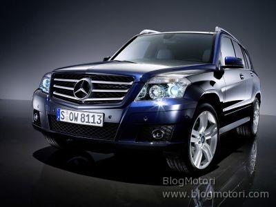 Mercedes-Benz Classe GLK: un Mid-Luxury SUV di carattere