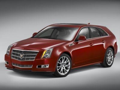 La gamma Cadillac CTS 2009: berlina,  Sport Wagon e CTS-V