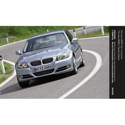 Parigi 2008: nuova BMW Serie 3