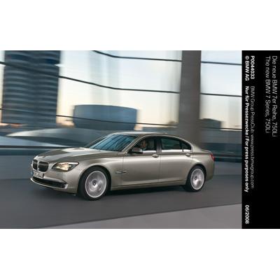 Parigi 2008: anteprima mondiale della nuova BMW Serie 7