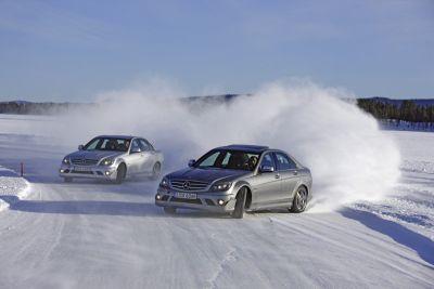 AMG Driving Academy edizione 2008-2009: il massimo della sicurezza e del piacere di guida