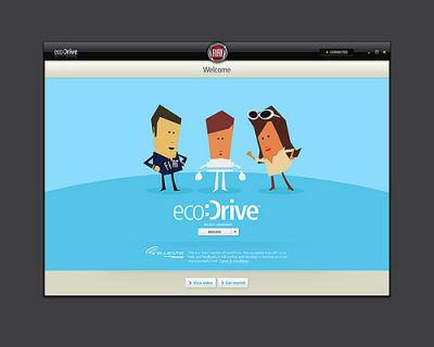 Sistema ecoDrive per una guida eco-responsabile disponibile per Fiat 500 e Grande Punto