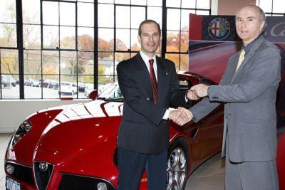 In Connecticut (USA) è arrivata la prima Alfa 8C Competizione destinata al mercato statunitense
