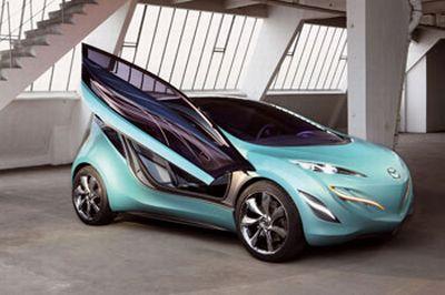 Mazda Kiyora e I-Cube: novità esclusive presenti nell'edizione 2008 del Bologna Motor Show