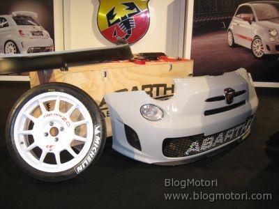 BlogMotori Live dal Motor Show 2008: Lo stand FIAT ABARTH