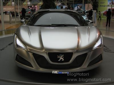 BlogMotori Live dal Motor Show 2008: Lo stand Peugeot