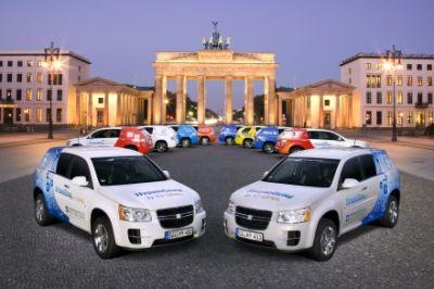 GM-OPEL HydroGen4 sulle strade europee